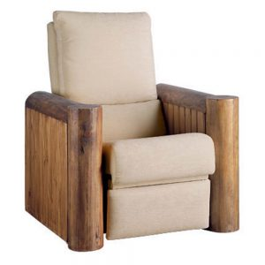 sofa rustico reclinable