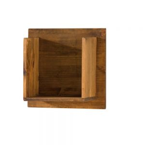 estante de pared madera