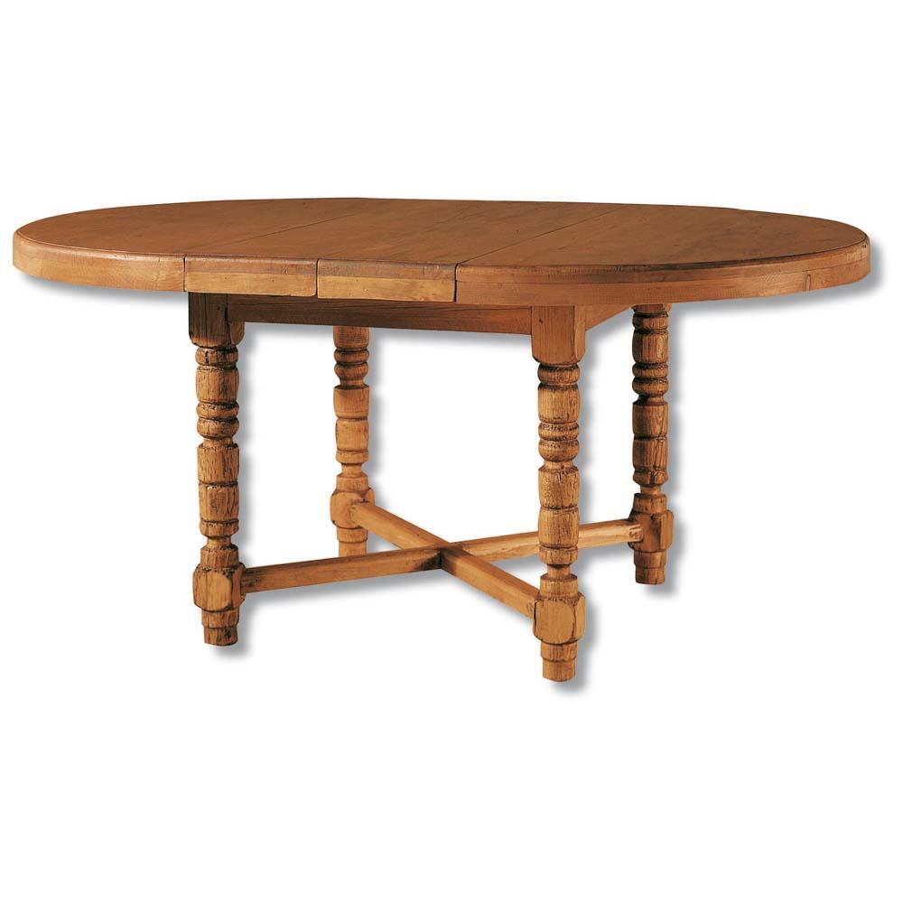 Mesa de comedor r stica 12152 myoc f brica de muebles for Mesa madera maciza rustica