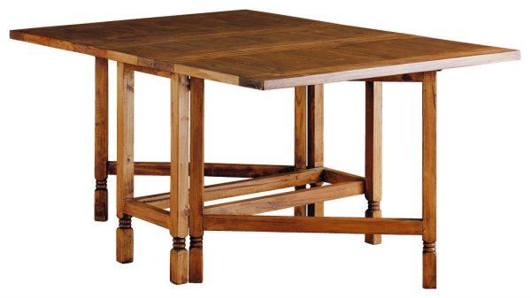 mesa comedor rústica extensible