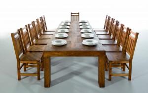 mesa comedor rústica, sillas comedor rústicas