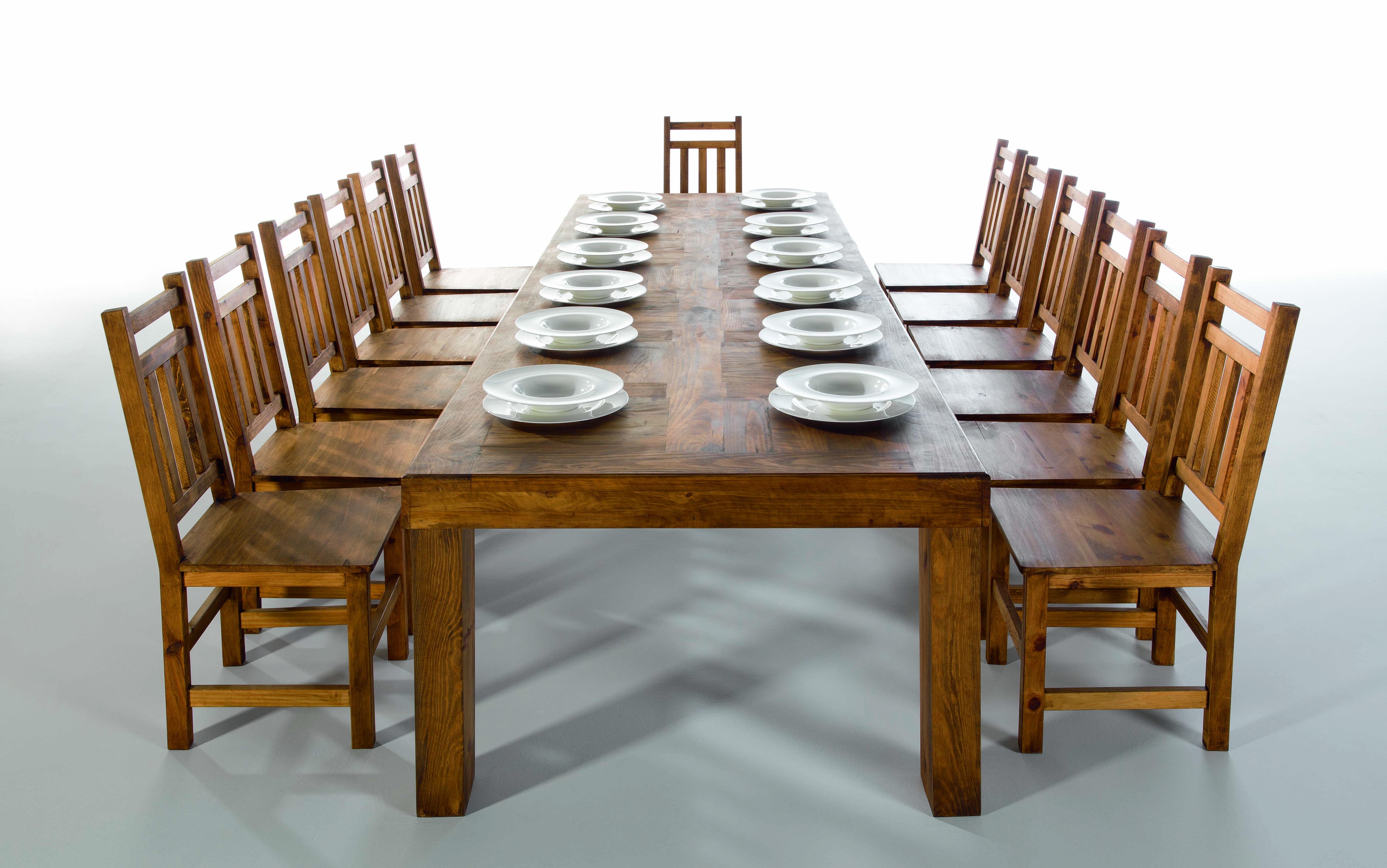 Fábrica de mesas de comedor y salón rústicas - MYOC. Fábrica de ...