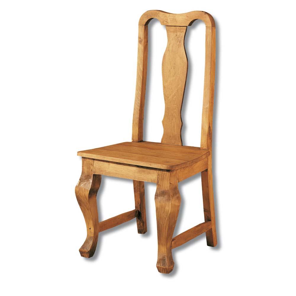 silla rústica