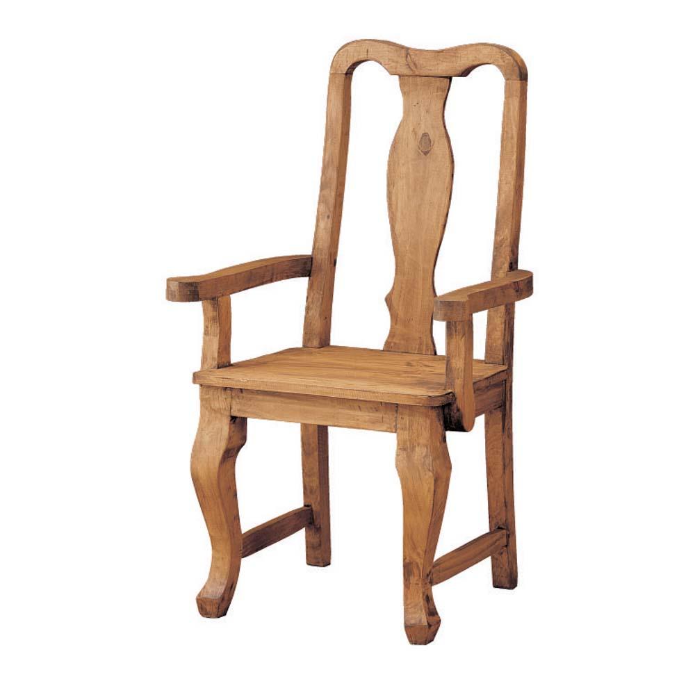 Silla r stica 13108 myoc f brica de muebles r sticos for Modelos de sillas de madera