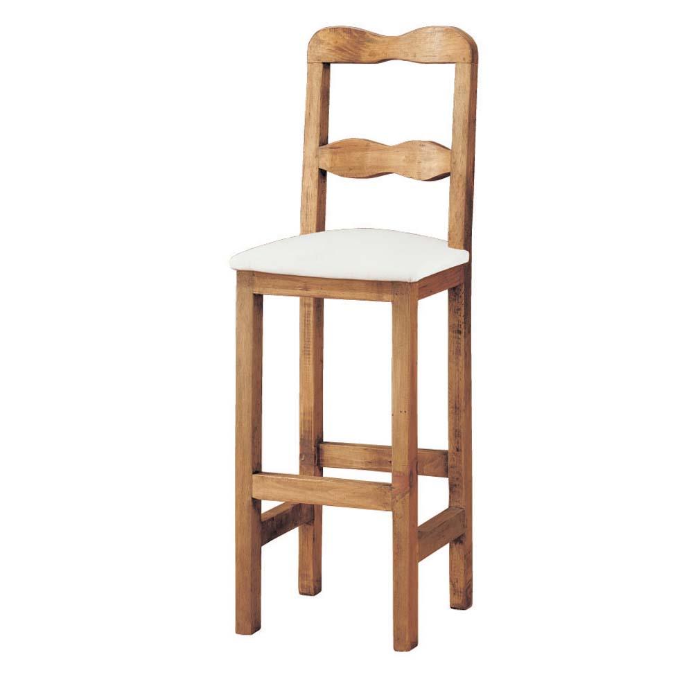Taburete r stico 13141 myoc f brica de muebles r sticos - Taburetes rusticos ...