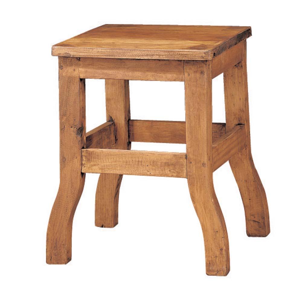 Taburete r stico 13153 myoc f brica de muebles r sticos for Taburetes de madera rusticos