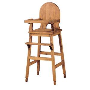 trona de madera