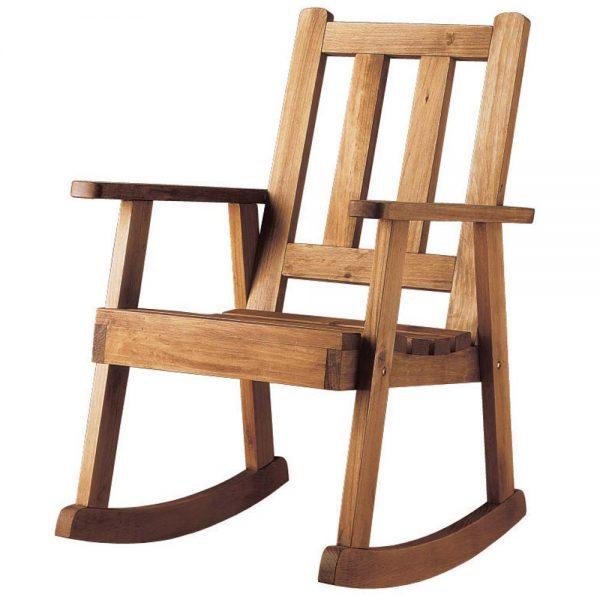 mecedora de madera