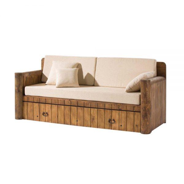 sofá cama nido de madera
