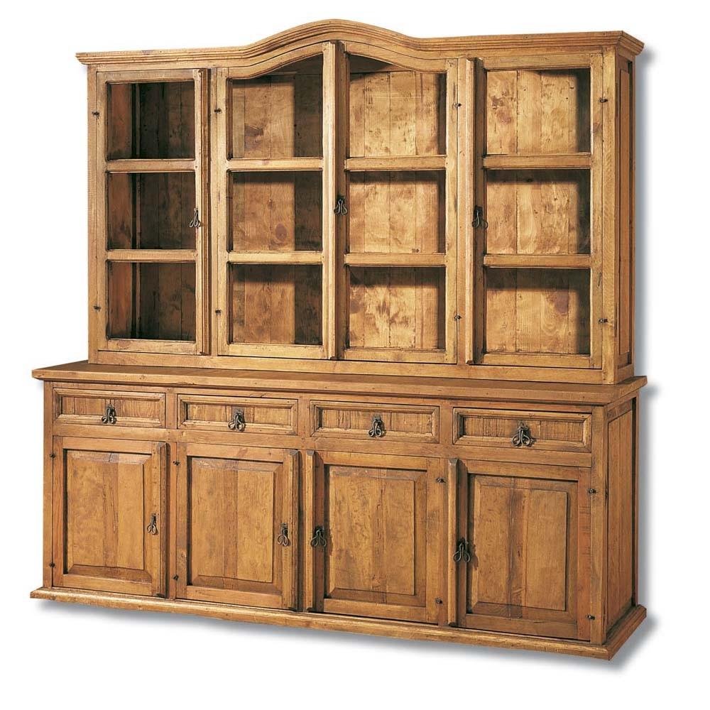 vitrina r stica 16109 myoc f brica de muebles r sticos