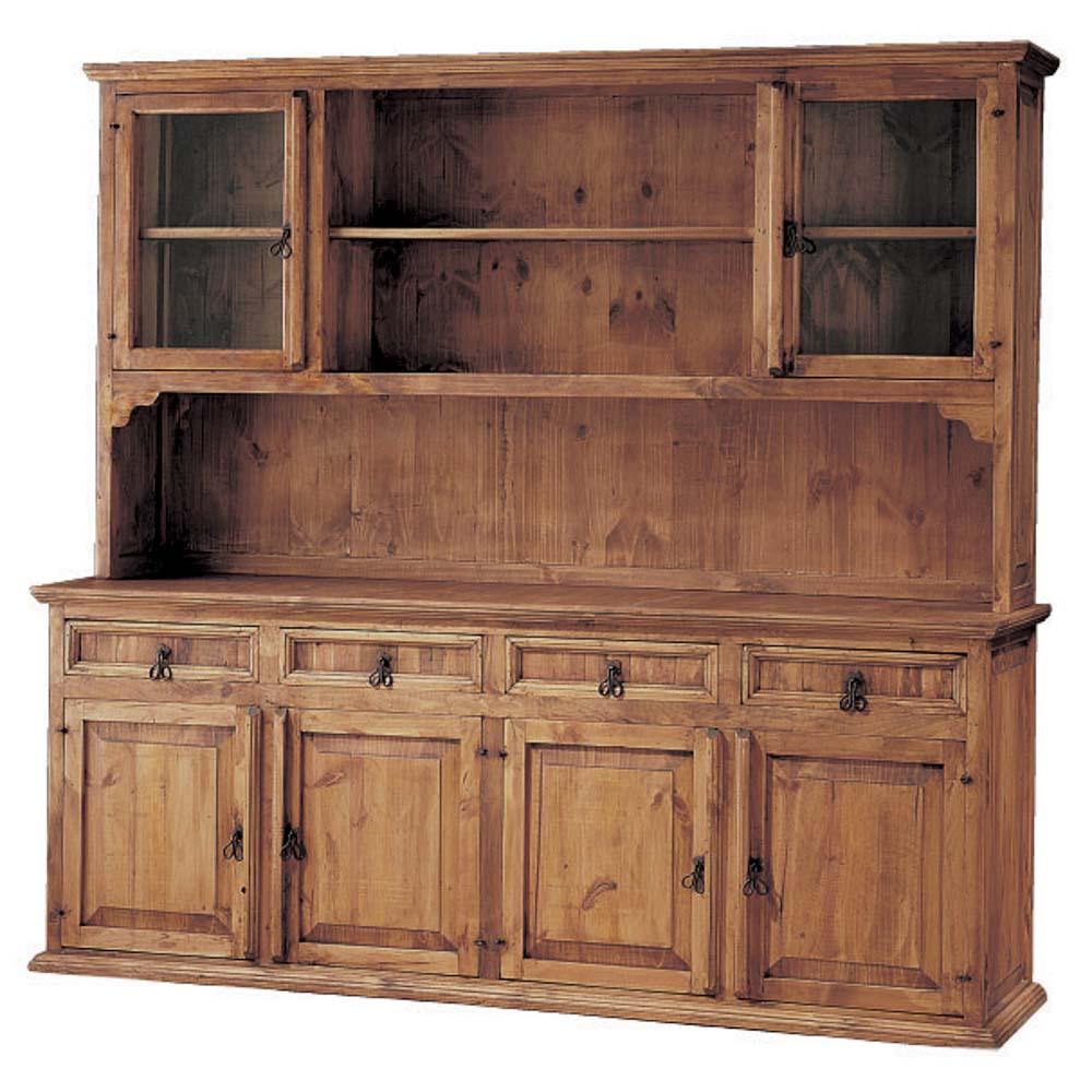 vitrina r stica 16115 myoc f brica de muebles r sticos