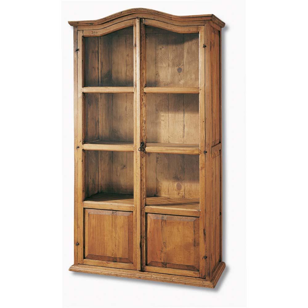 Vitrina r stica 16139 myoc f brica de muebles r sticos 100 madera maciza - Vitrinas rusticas ...