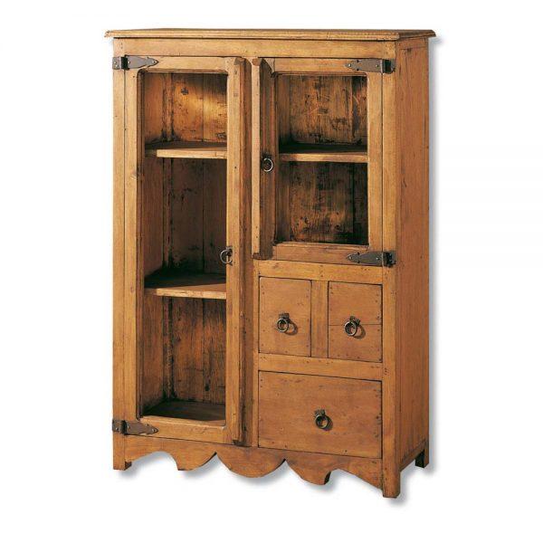 vitrina cocina de madera