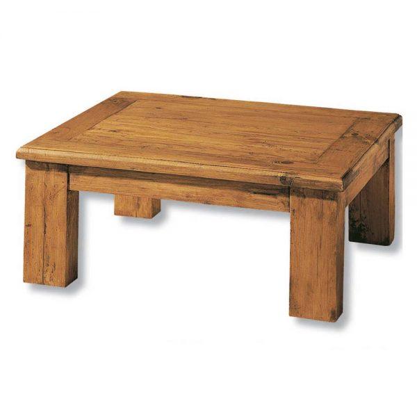 mesa centro de madera rústica