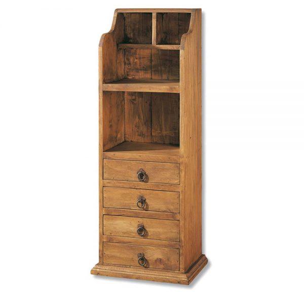 mueble para libros, libreria de madera