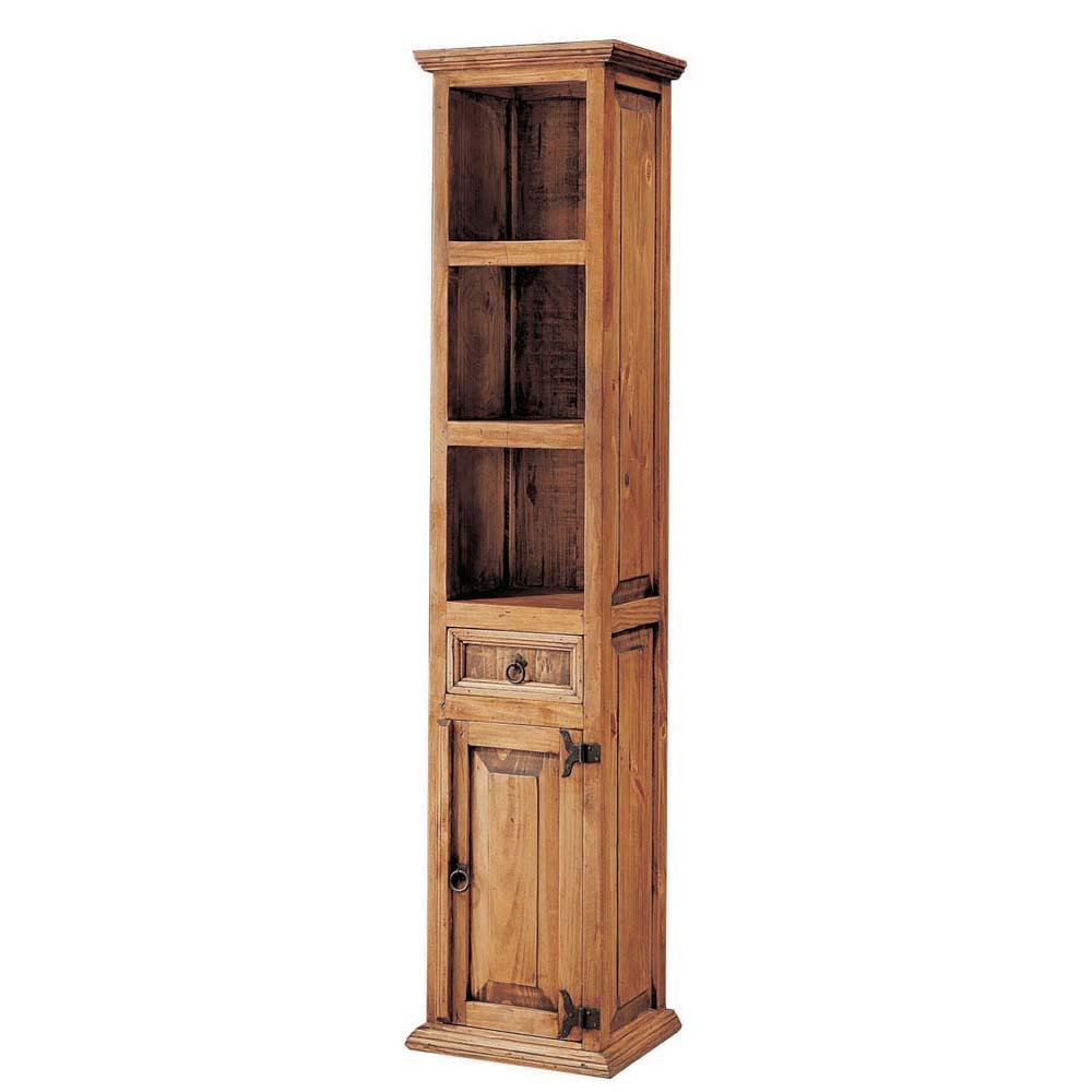 Librero r stico 20111 myoc f brica de muebles r sticos for Fabrica de muebles de madera
