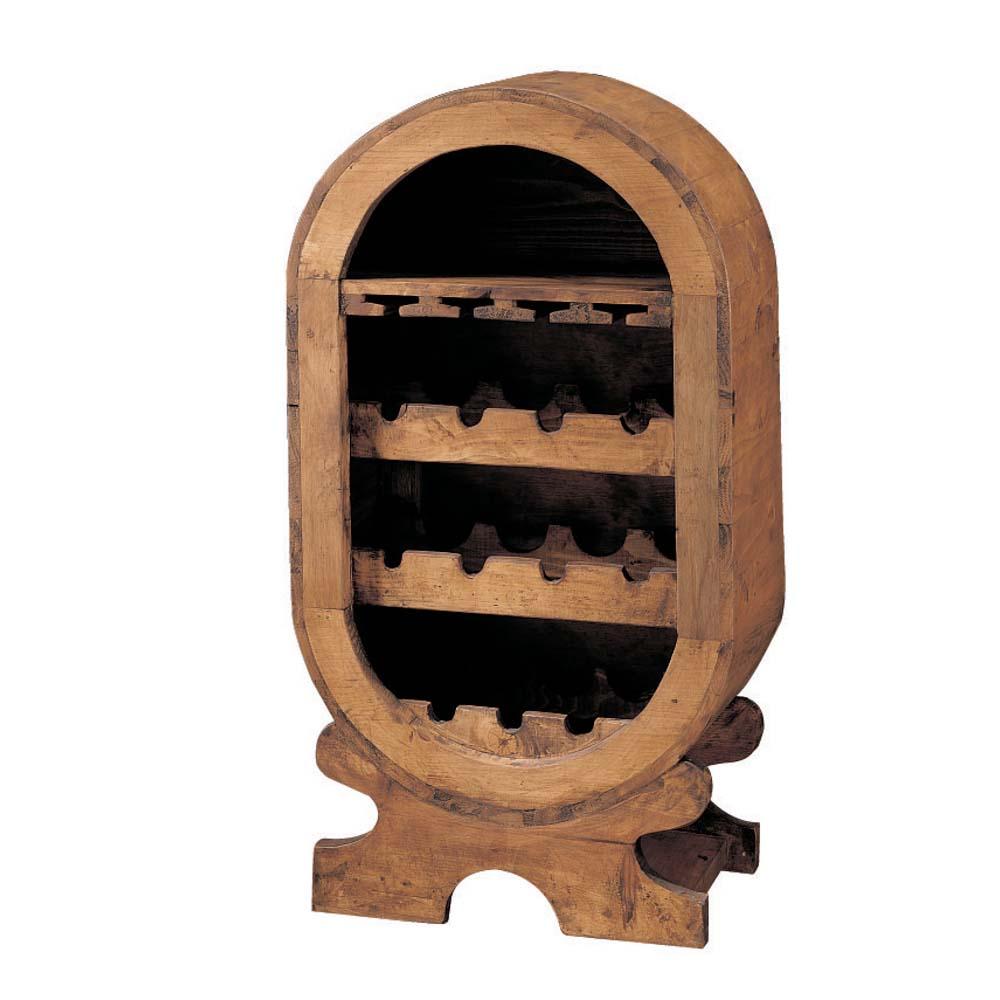 Botellero r stico 21120 myoc f brica de muebles r sticos 100 madera maciza - Botelleros rusticos ...