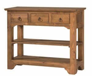 consola mueble madera rústica