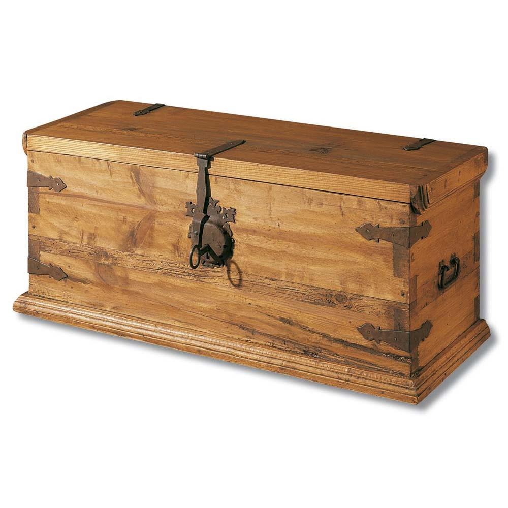 Arc n r stico 23111 myoc f brica de muebles r sticos - Baules antiguos de madera ...