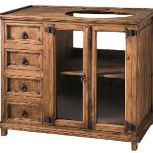 Mueble ba o rustico archives myoc f brica de muebles - Mueble de bano madera ...