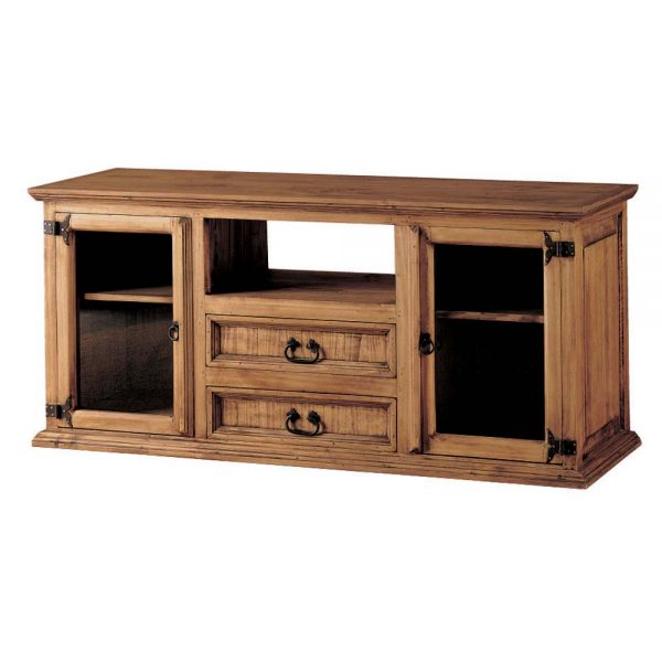 mueble tv de madera maciza