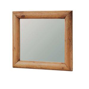 espejo rústico troncos