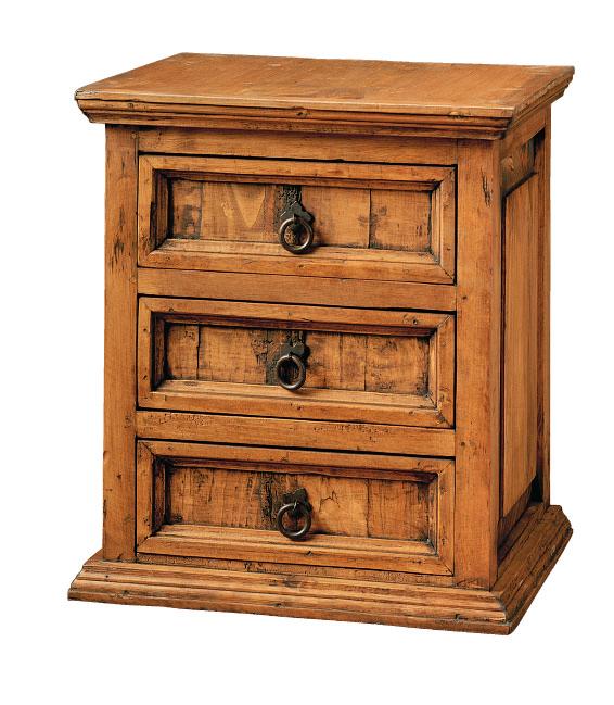 Mueble de madera rústico y colonial en Alicante