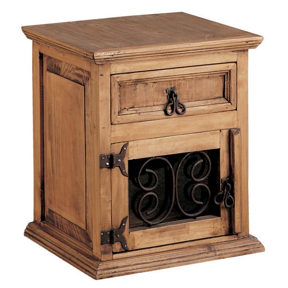 Mesita de noche myoc f brica de muebles r sticos 100 - Fabrica de muebles en madera ...