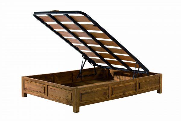 canapé madera rústica