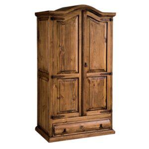 armario rustico cajón troncos