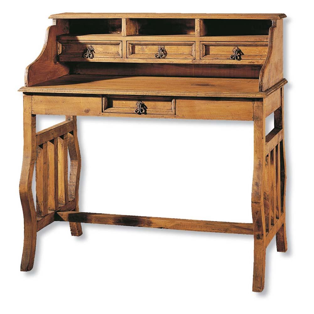 Escritorio r stico 30004 myoc f brica de muebles for Fabricas de muebles de madera