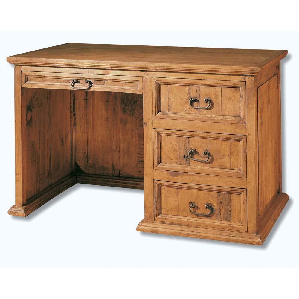 escritorio de madera maciza