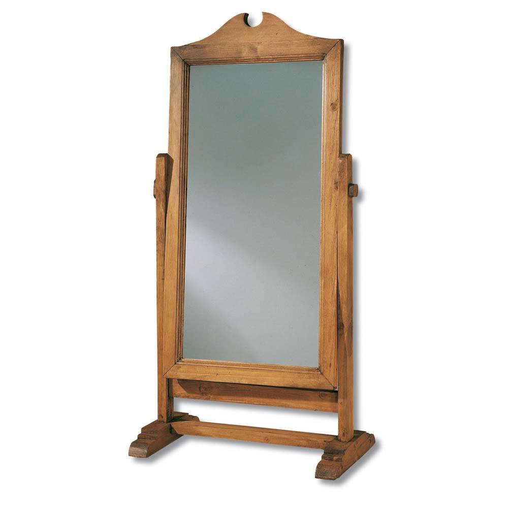 Espejo pie r stico 31014 myoc f brica de muebles for Espejos de pie precios
