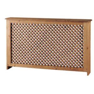 cubre radiador de madera