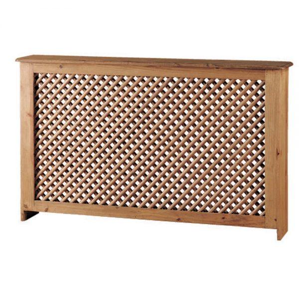 cubre radiador rústico