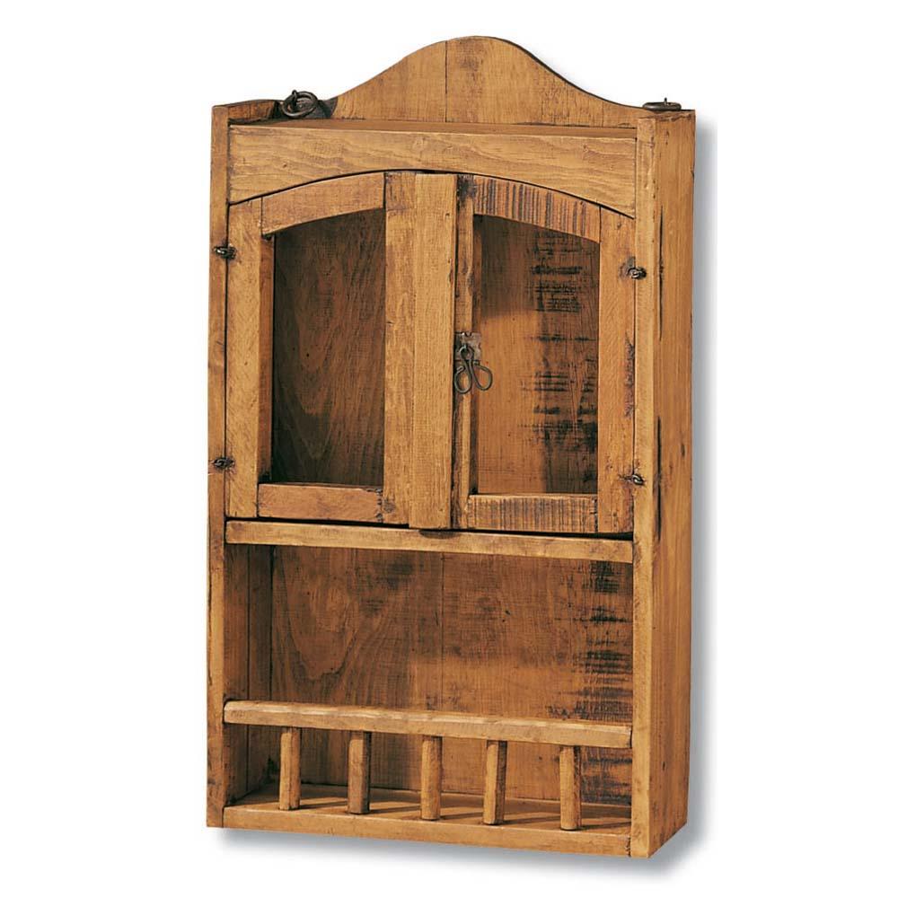 Especiero con barandal 31040 myoc f brica de muebles - Armarios rusticos segunda mano ...