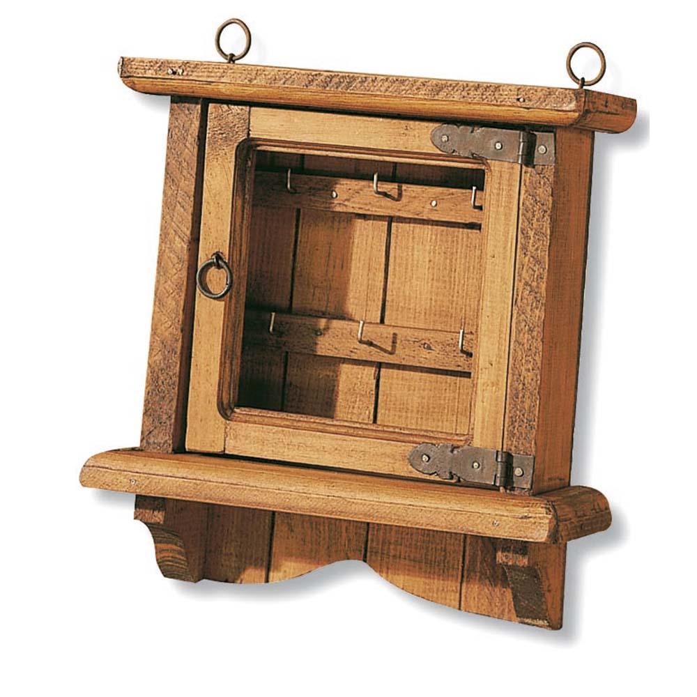 Muebles rsticos de madera estantera madera rustica for Madera muebles