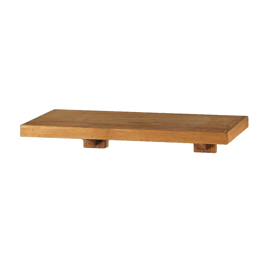 estante de madera