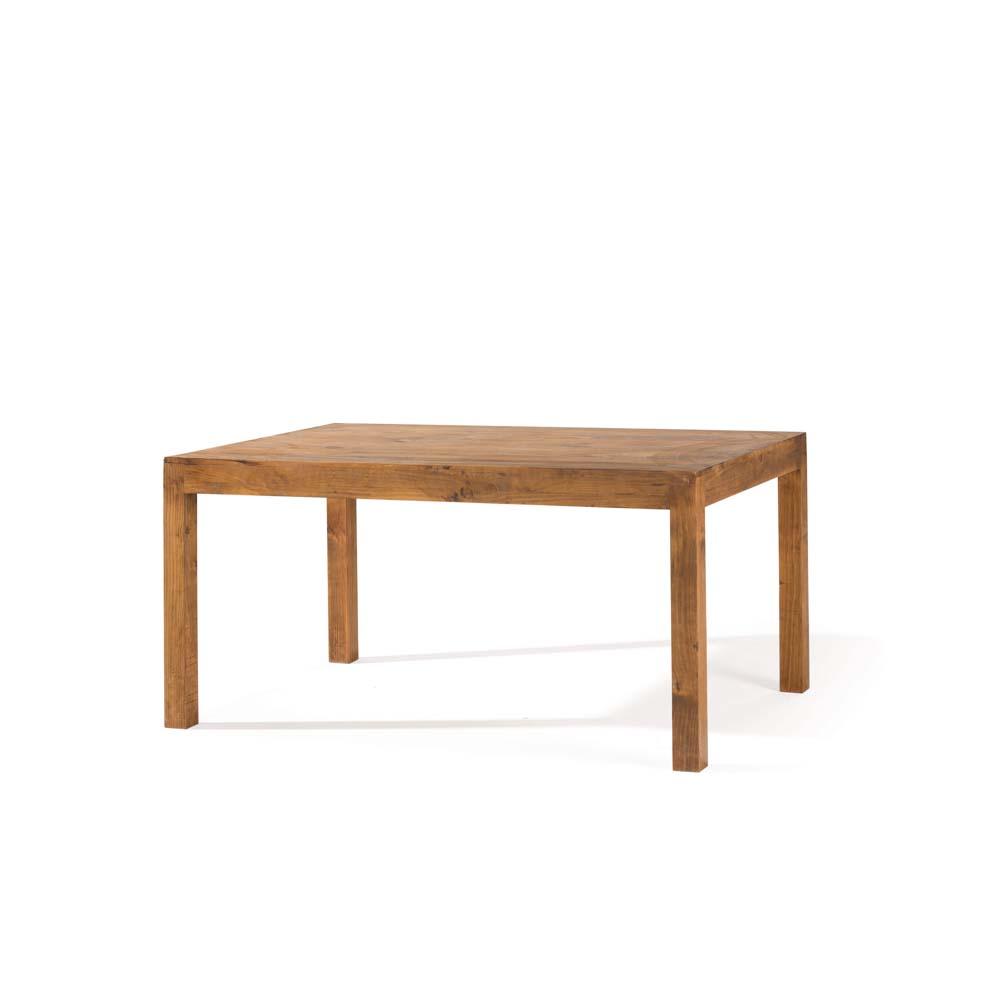 Mesa de comedor r stica 35015 myoc f brica de muebles for Mesa madera maciza rustica
