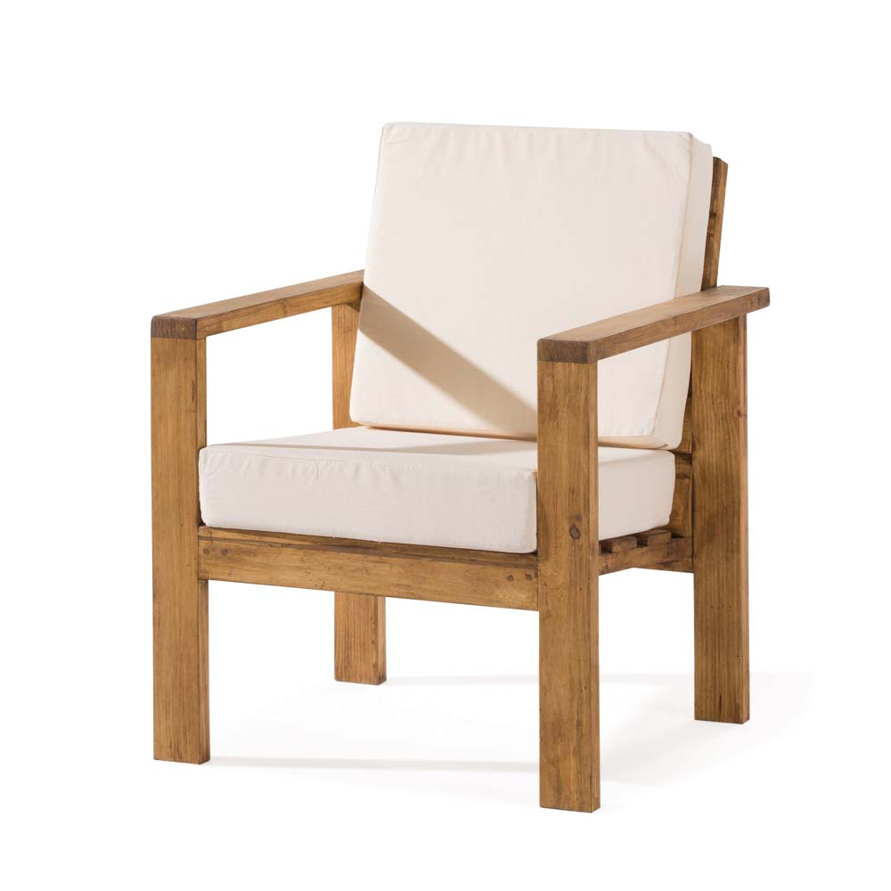 Sof r stico 1 plaza myoc f brica de muebles r sticos for Fabricantes de muebles de madera