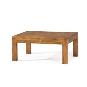 mesa de centro rústica madera maciza