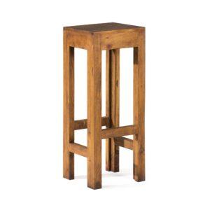 taburete bar rústico madera