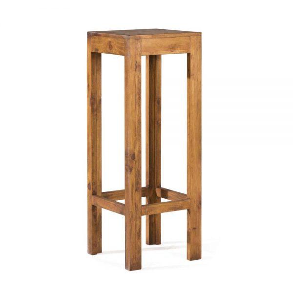mesa de bar rústica alta