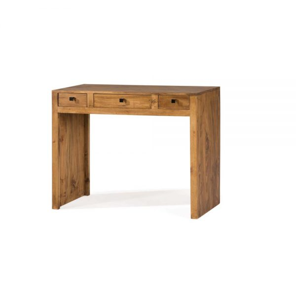 mesa de escritorio madera rústica