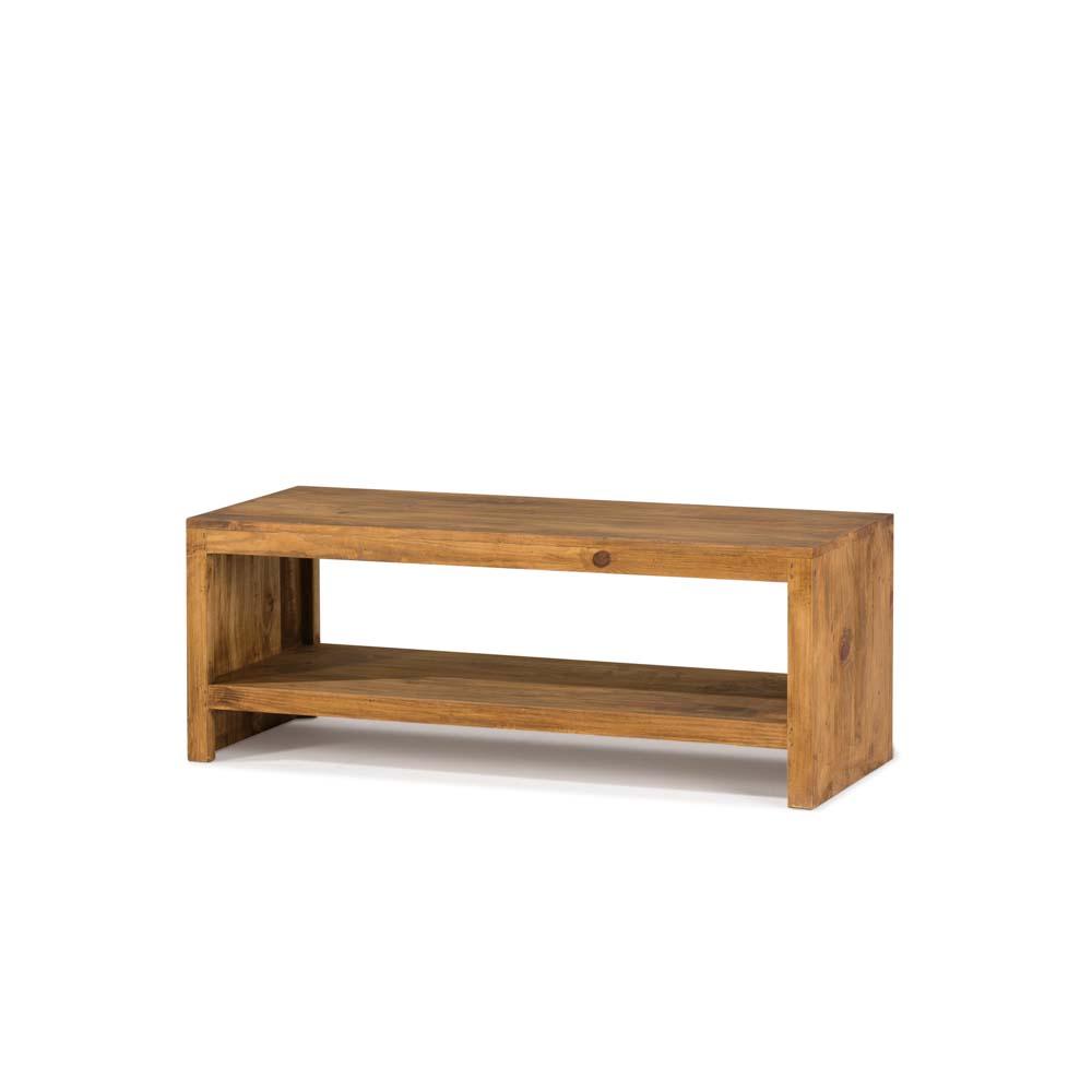 mesa tv madera rústica