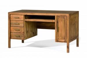 escritorio de madera 4 cajones