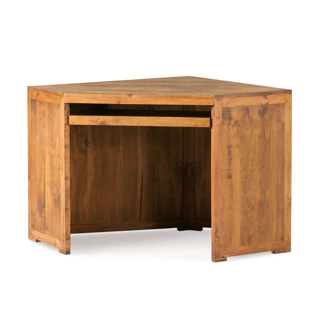 escritorio esquinero de madera