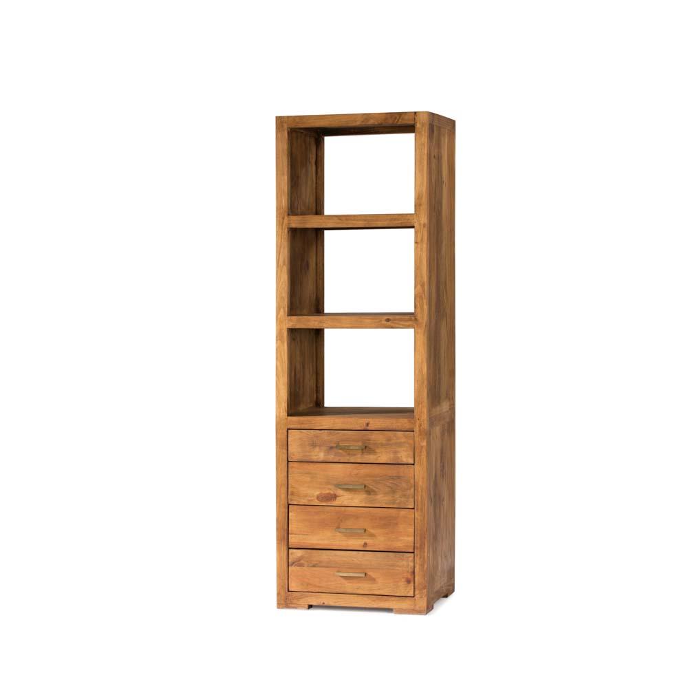 Librero r stico myoc f brica de muebles r sticos 100 - Fabrica de muebles valencia ...