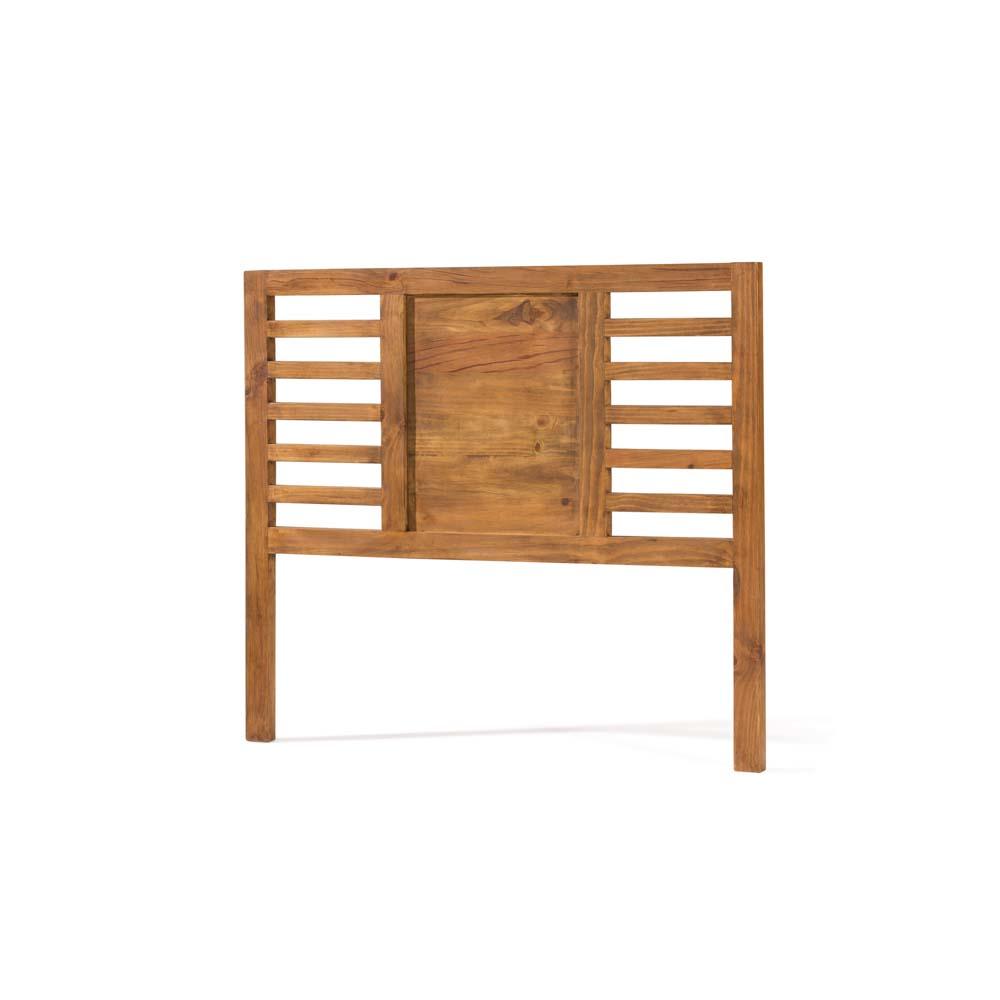 Cabecero r stico 40091 myoc f brica de muebles r sticos - Cabeceros rusticos de madera ...