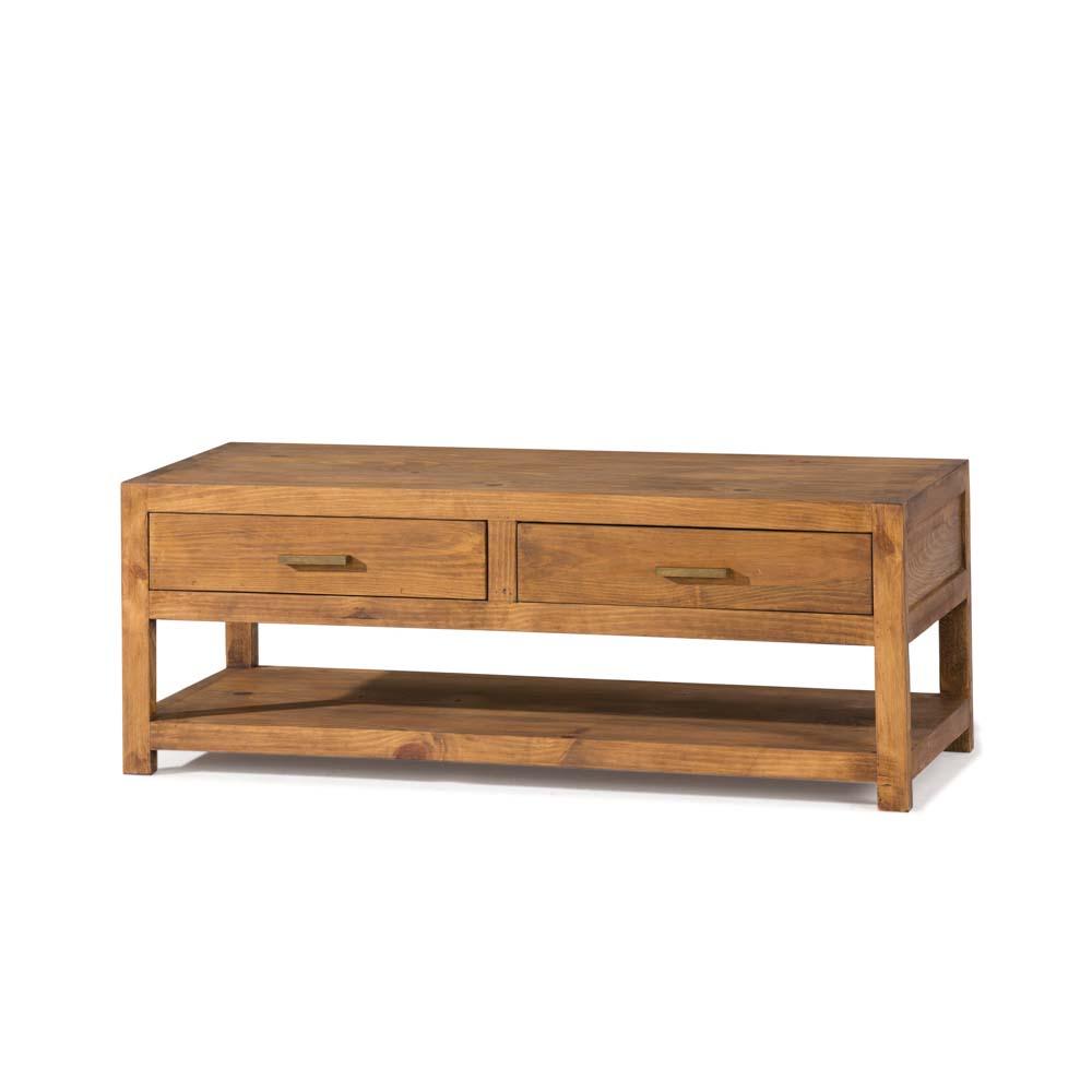 Banco de cama r stico 40135 myoc f brica de muebles r sticos 100 madera maciza - Banco de madera rustico ...